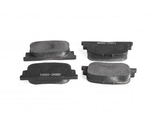 Колодки тормозные дисковые FT 1050-36BB