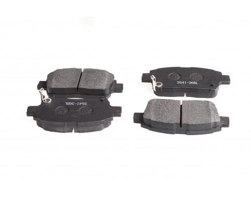 Колодки тормозные дисковые FT 3541-36BL