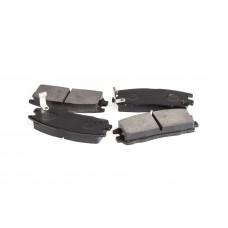 Колодки тормозные дисковые FT 4053-36BW