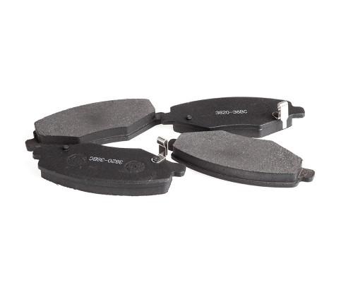 Колодки тормозные дисковые FT 3820-36BC