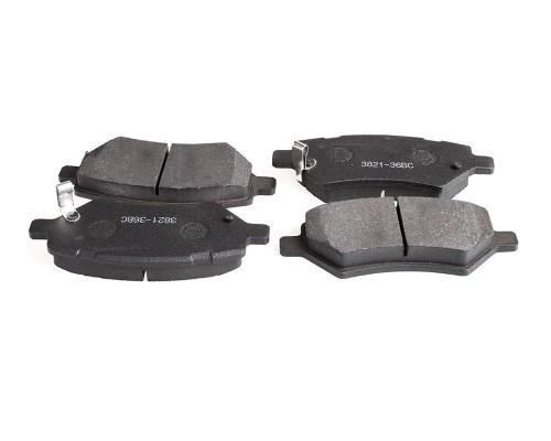Колодки тормозные дисковые FT 3821-36BC