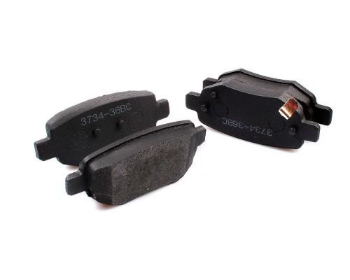 Колодки тормозные дисковые FT 4314-36BC